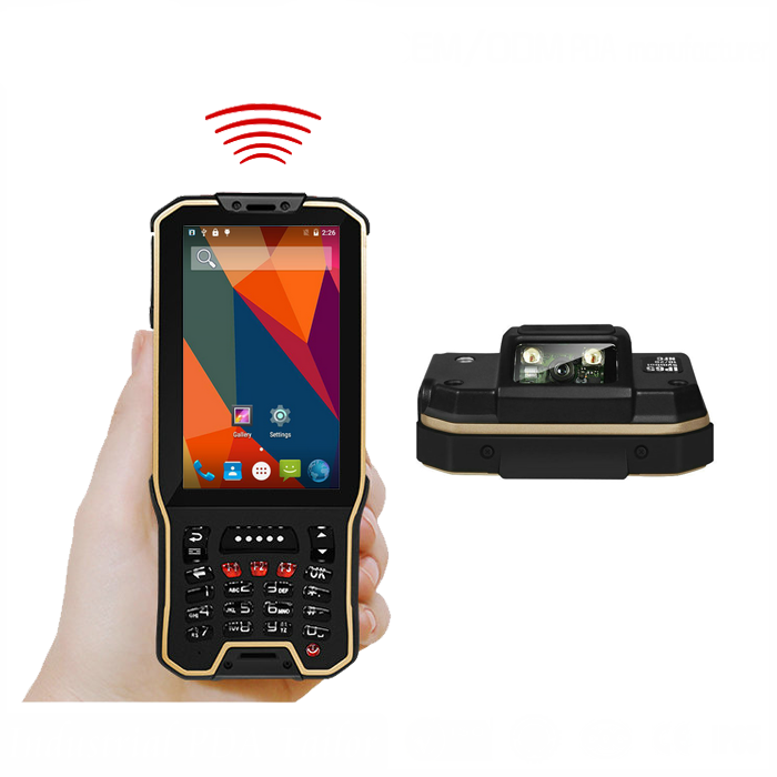 Rugged Industrial Pda Terminal Reader Android 1d 2d Qr Bar Code Scanner  With Rs232 4g Wifi Sim Card Bluetooth - Buy Rugged Android 1d 2d Qr Bar  Code