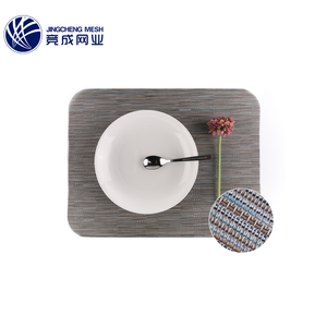 Best price chinese wholesale luxury big plastic pvc plate dining place pvc table mat for restaurant