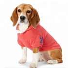 red white fleece-lined pet clothing large plain pet dog hoodie