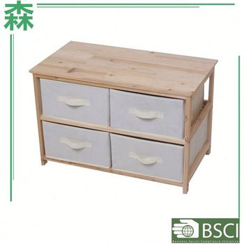 Anewway Houseware Living Room Furniture Nature 4 5 6 Drawers Chest Flat Pack Wide