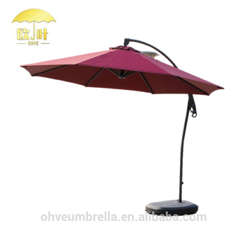 Alibaba China Outdoor Patio Tilt Mechanism Beach Umbrella Parasol