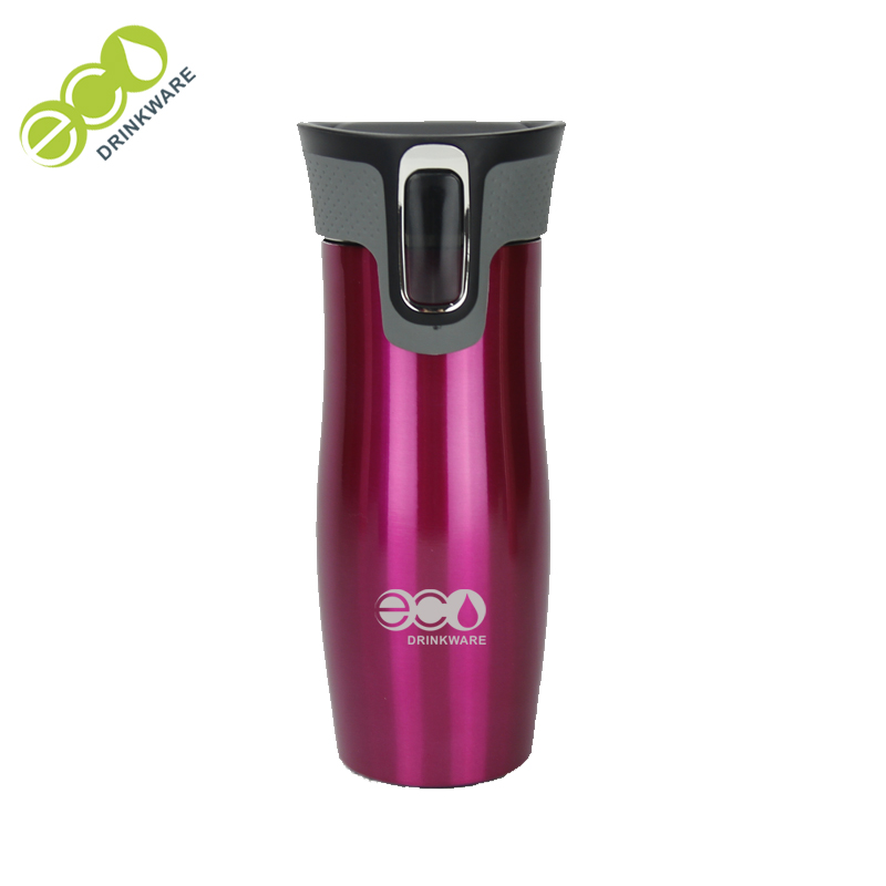 GV001 500ML/16OZ In Stock Double Wall Screwed Lid Stainless Steel Vacuum Insulated Tumbler thermos