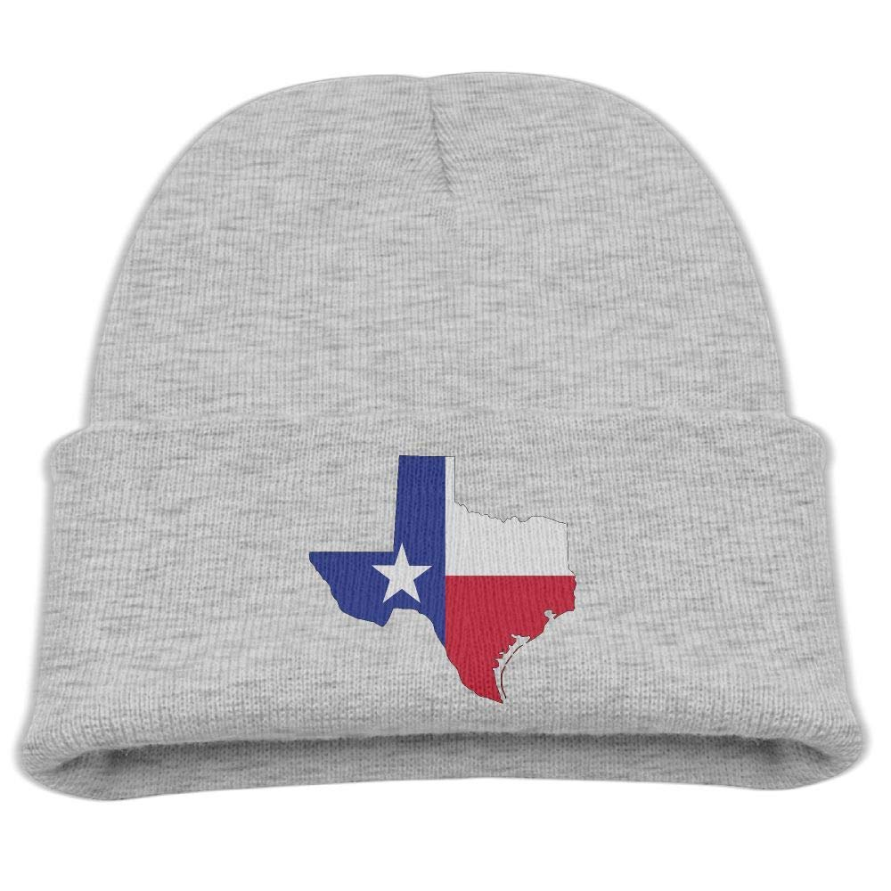 9003c7f1c52c8 Get Quotations · Yimo Texas Flag Kids Hip Hop Beanies Black