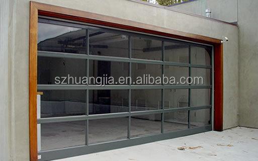 Elettrico telaio in alluminio del pannello in vetro di for Prezzo del garage 16x20