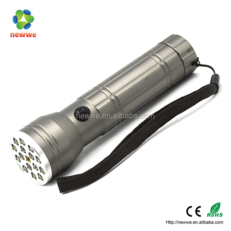 led UV light Blacklight infrared flashlight laser torch