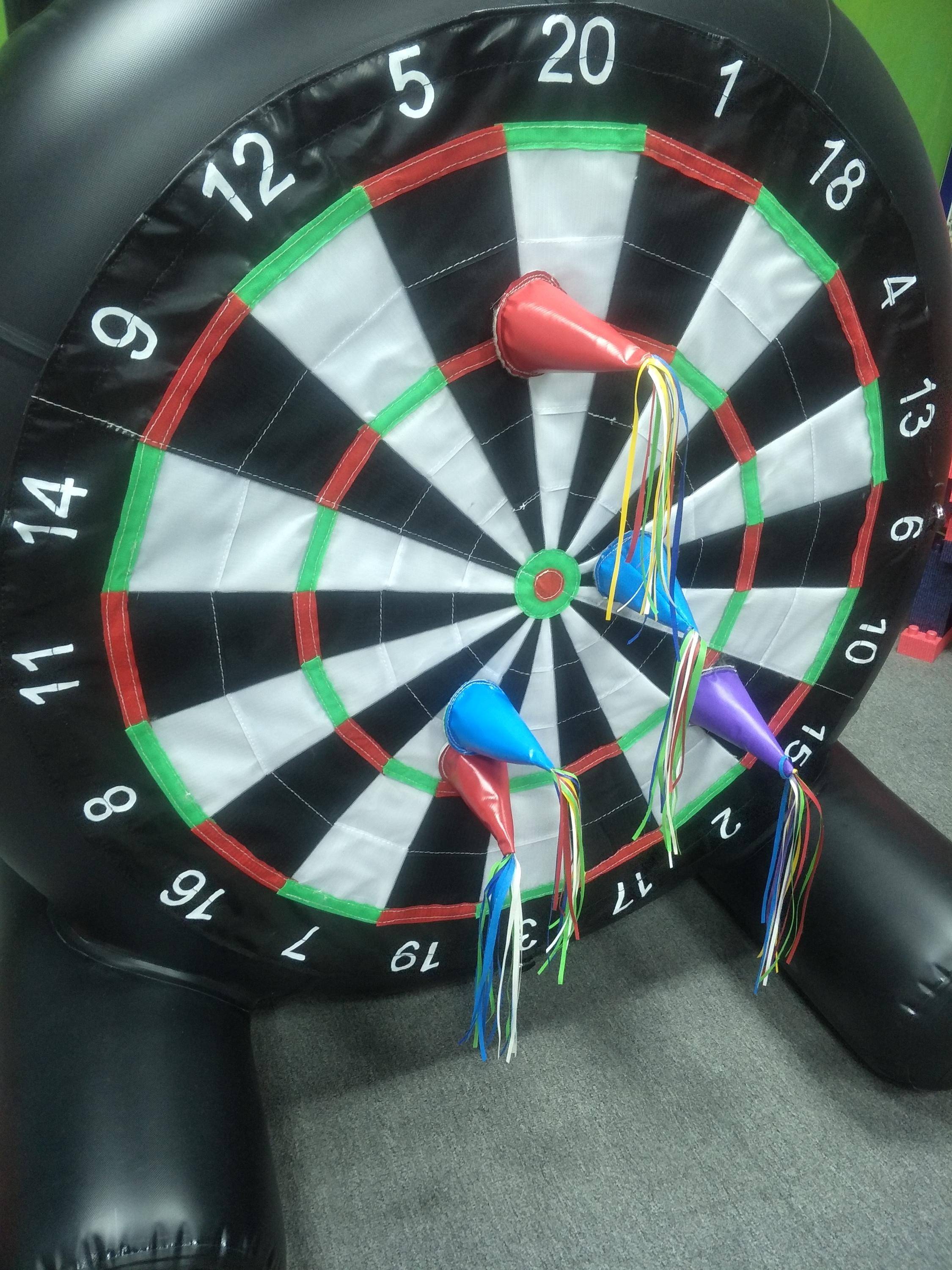 cheap inflatable dart board