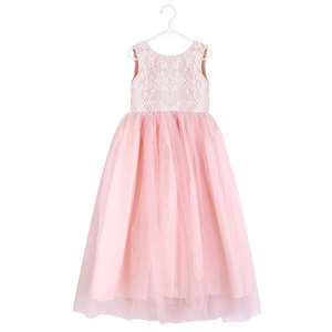 High Quality Lace Party Design Wedding Dress Baby Girl Summer Dress