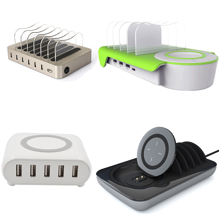 Popular universal USB charger cellphone charging station commercial electronics for bar, hotel or restaurant
