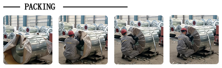 Galvanized steel strip coil stripe coil galvanized steel slit coil
