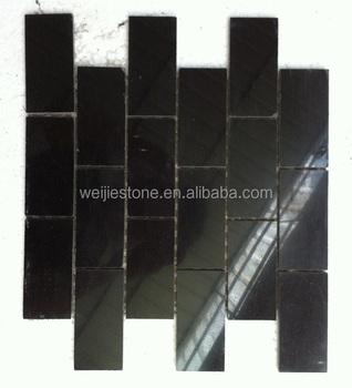 2x4 Brillant Anti Fondu Noir Galaxy Marbre Mosaïque Pour Dosseret De  Cuisine - Buy Dosseret De Cuisine En Marbre,Tuile De Mosaïque En Marbre De  ...