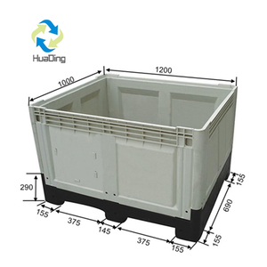 Large Plastic Shipping Crates box container for transport and storage