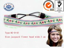 MJ-D-05 In 2012 the most fashionable hair band/fashion elastic hair band