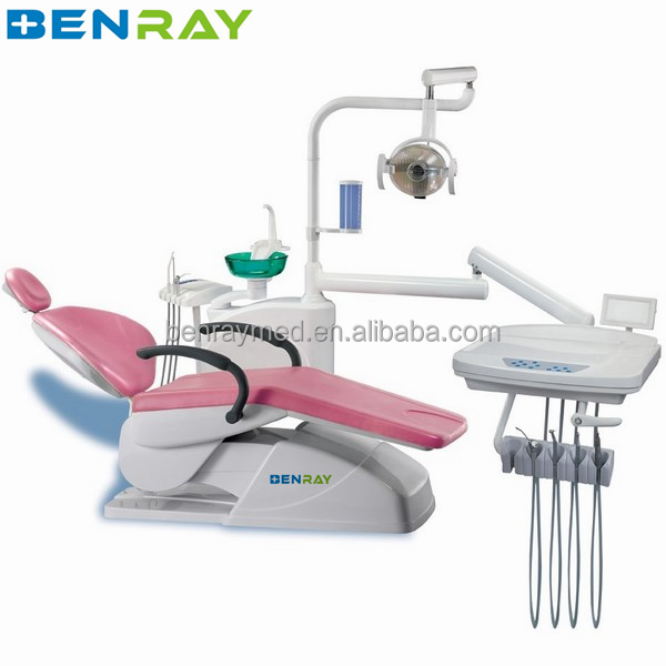BR-DCH40B China Cheap Dental Chair Dentist Unit Chair With Dental Stool Manufacture