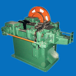 automatic coil nail making machine for metal used in scrap Metallurgy recycling industry