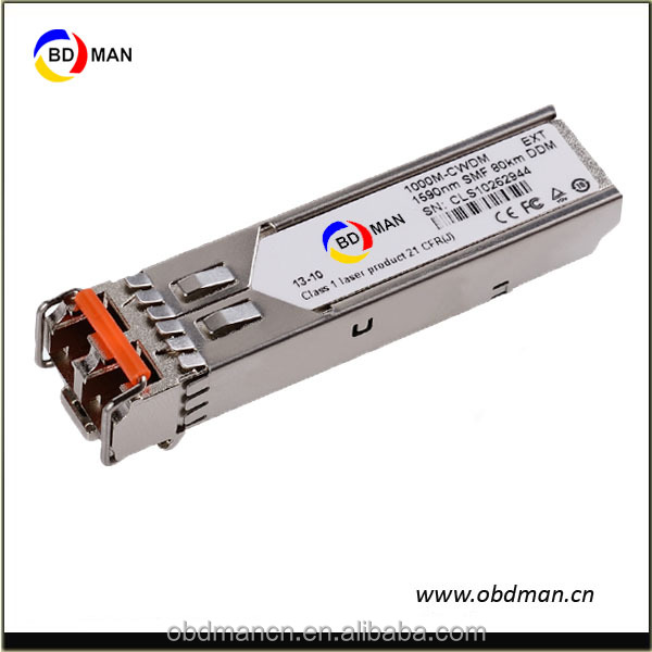 SFP-GIG-47CWD60 Alcatel cwdm sfp module 1.25g 60km 1000Base cwdm add drop filter