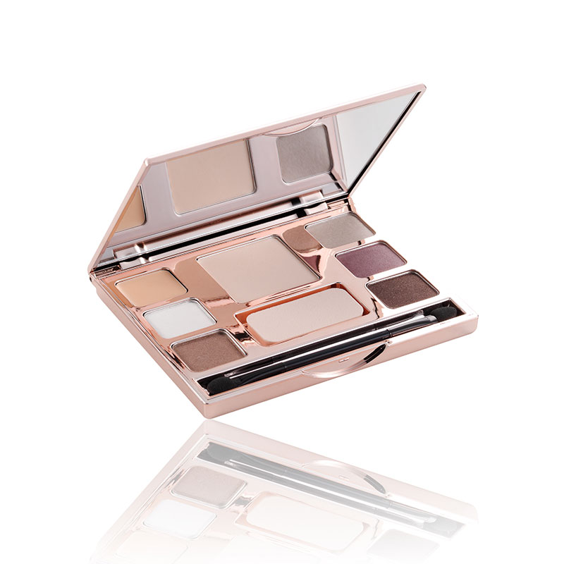 Neues Design Make-Up Kit Professionelle Box Gesicht Make-Up Kit Für Make-Up Künstler Alle In One Goldene Rose serie Hersteller