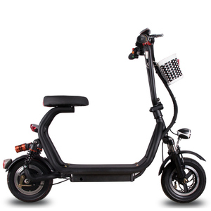 Tianjin OEM The Lightweight Adults Portable 2 Seater Small Motorcycle Folding Electric Scooter 150KG Max Load