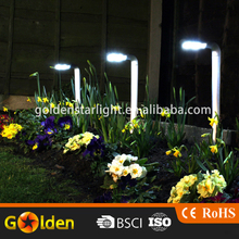New design Hot selling bright aluminium solar lawn light for garden