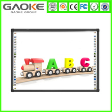 Multi touch smart board whiteboard smart technologies virtual whiteboard China OEM IR finger touch school board