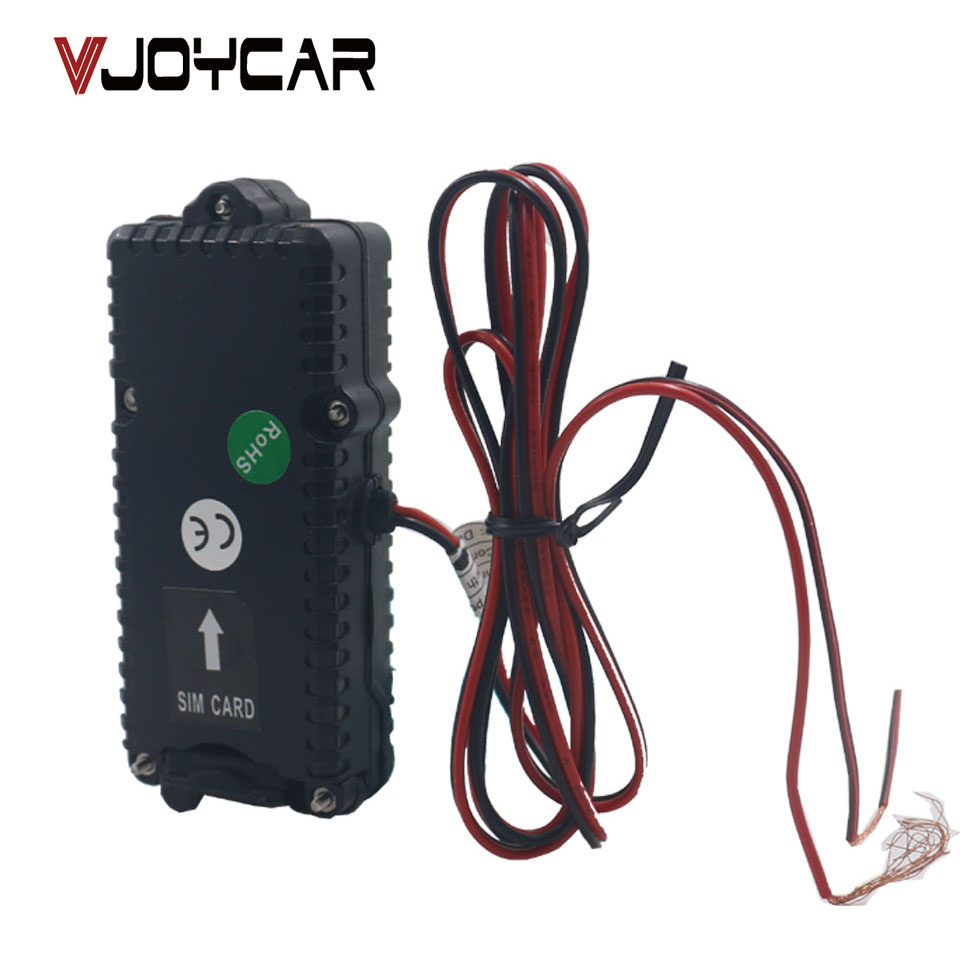 Automatically real time google tracking 12-60V voltage waterproof anti theft small vehicle GPS tracker