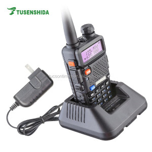 Long Range BAOFENG 5-8km Dual Band UV-5R Ham Two Way Radio UHF VHF fm Radio/Walkie Talkie