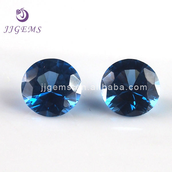 120# round shape spinel jewel stones