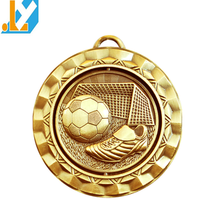 Football sport medals/medal soccer awards on promotion