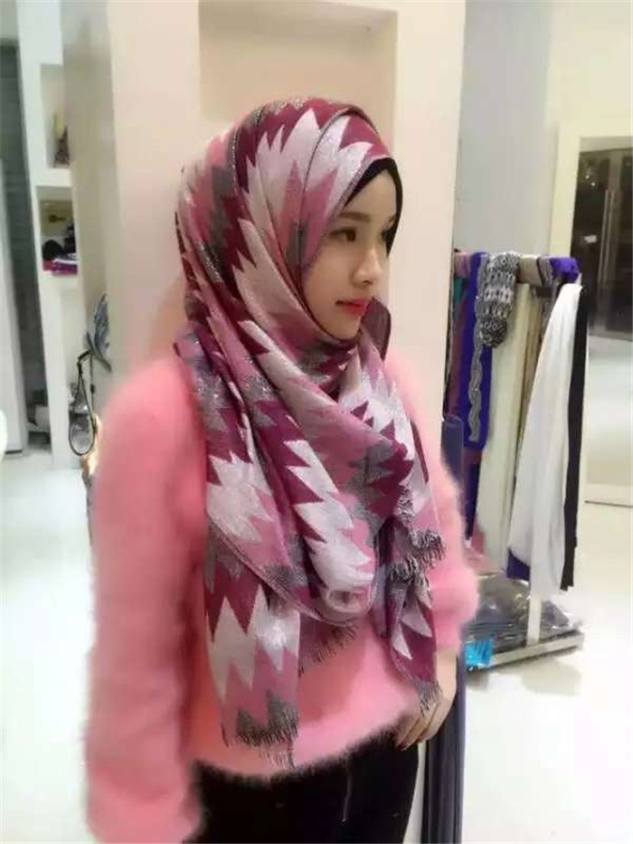 Wholesale long plain color scarf muslim fashion hijab 2016