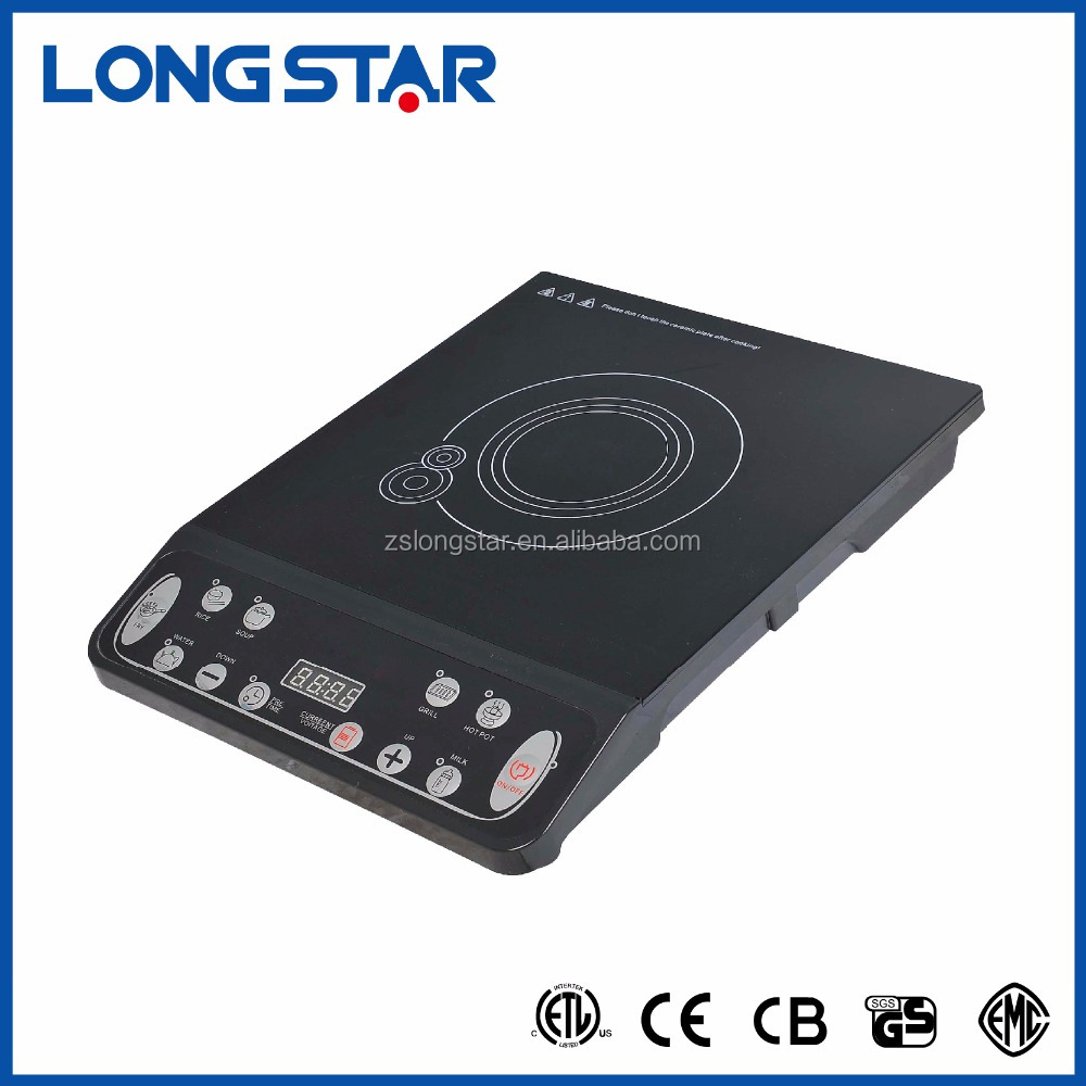 CE/CB approval with button controller beveled induction cooker/solar induction hob with beveled control panel