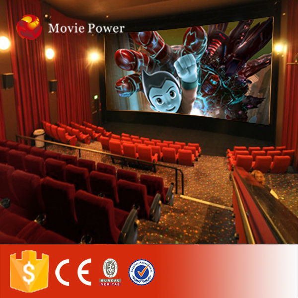 Small investment and business electric 24 seat mobile 5d cinema