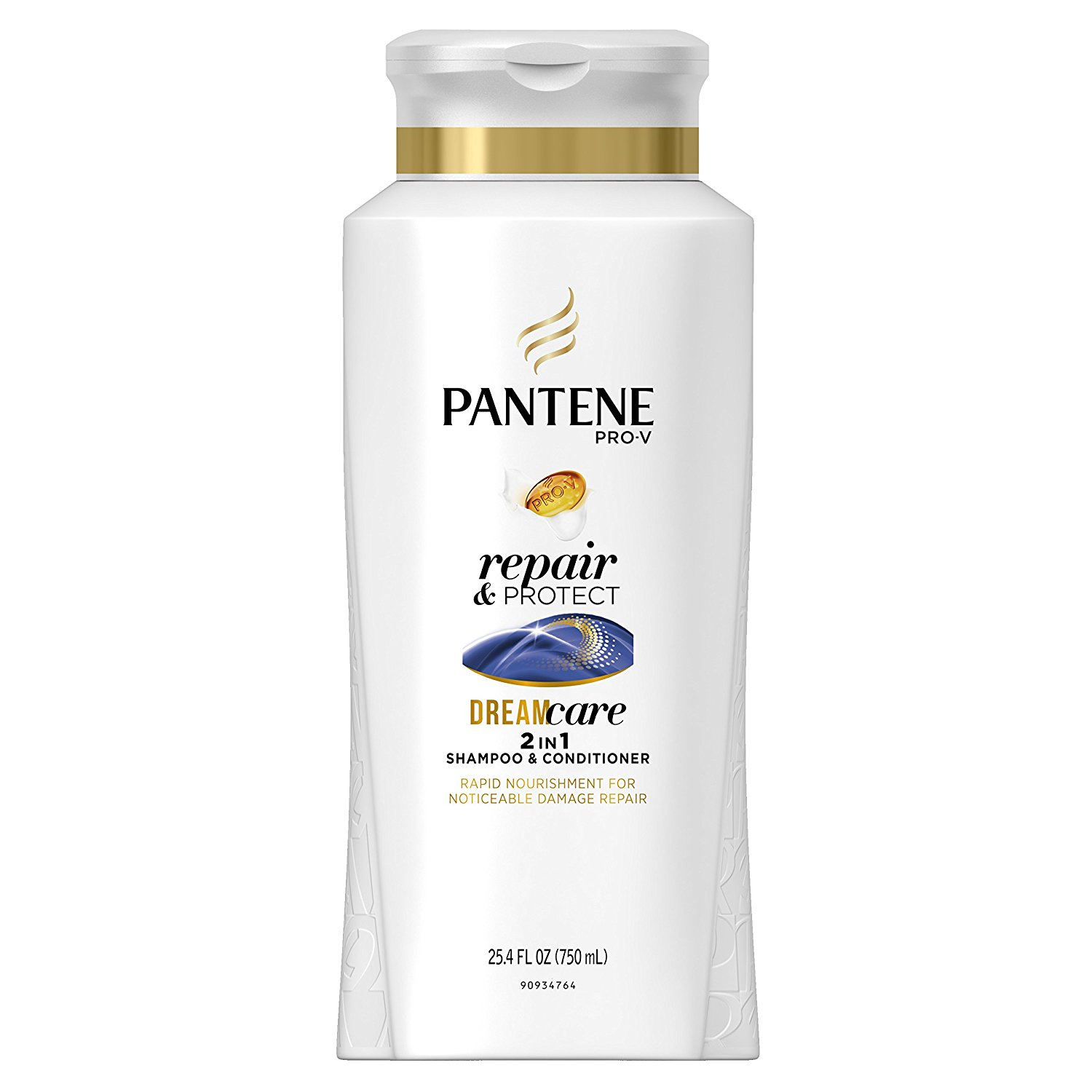 Pantene Pro-V Repair & Protect 2 In 1 Shampoo & Conditioner 25.4 Fl Oz (packaging may vary)