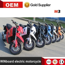 WINboard factory wholesale cheap electric motorcycle 3000W powerful with speed 80km/h for adults
