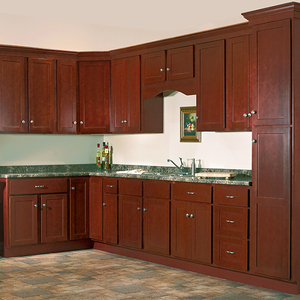 Curved kitchen cabinet skirting board, small kitchen design
