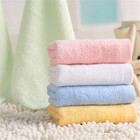 Home Textile 100% Terry Cotton white Kitchen Hotel Face Towels