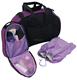 Sport dance bags with garment rack with Toiletry bag and Shoe Bag