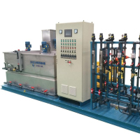 Professional flocculant dosing equipment SQB4000 for water treatment system