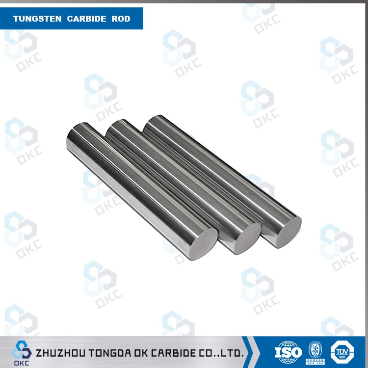 Tungstan carbide rods for making reamer and shank cutter
