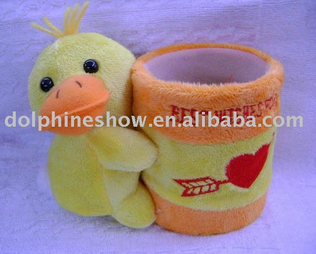Plush toy pen holder(DL-1206H)