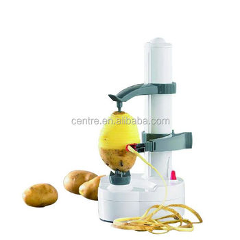 Electric potato, fruit and vegetable spiralizer