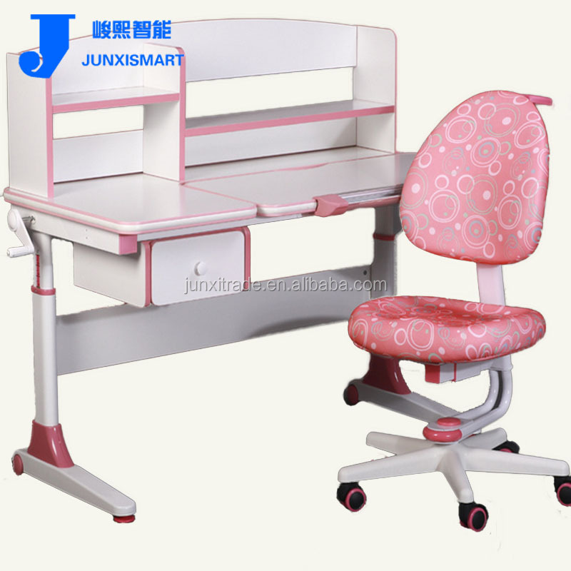 2015 factory children study desk/table with studying/learning desk stand