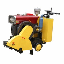 walk behind diesel engine asphalt used concrete saw cutter machine