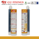Chemical fixings injection resin mortar use in railings vinyl steel bar planting glue foundation bolt weight