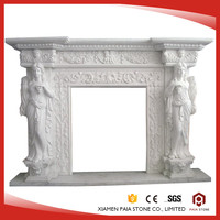 French Style Decorative Electric Fireplace Mantel