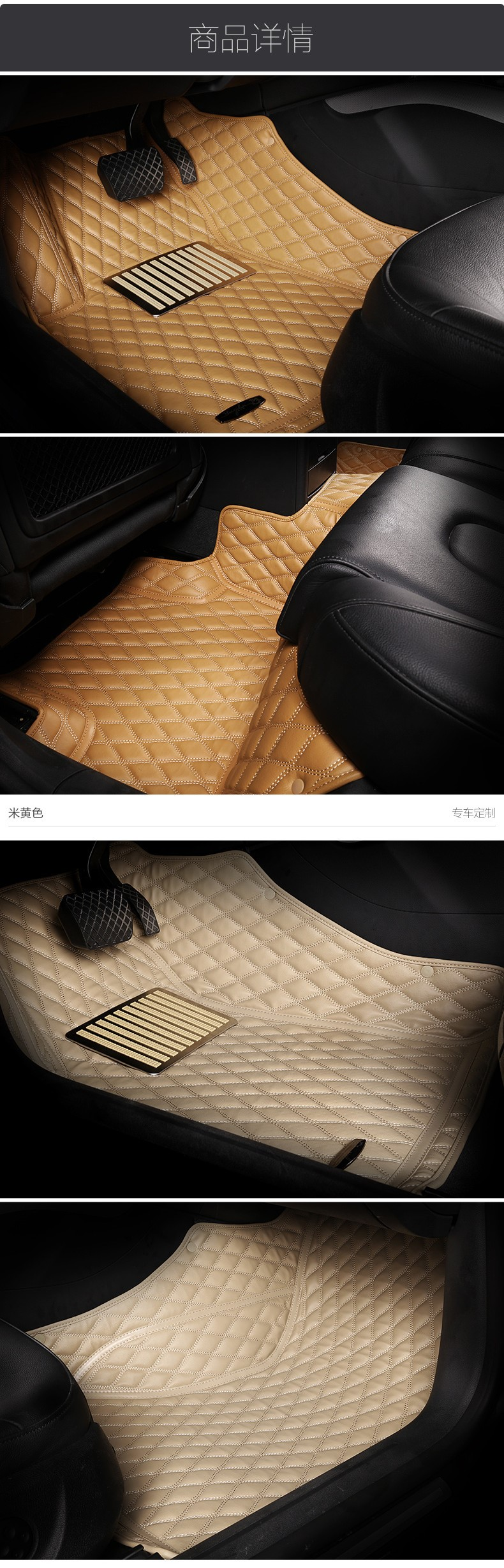High quality car carpet mats leather specific custom 3d car mat for Toyota Mark X