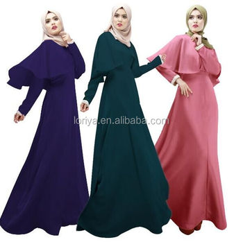 c76c4293a72b Muslim Abaya Kaftan,Islamic Modest Fashion Clothing, Arab Egypt Latest Style