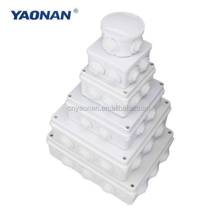 Custom Plastic ABS Enclosure Box IP67 Connection PVC Cable Screw Waterproof Small Electrical Junction Boxes Price In Philippines