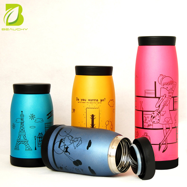 Beauchy new products 260ml/350ml/500ml 304 Big Belly Thermos Bottle