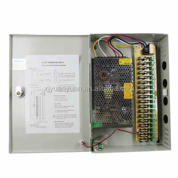 Wholesales 60W DC 12V 5A 4CH Glass Fuse PTC Fuse Switching Power Supply