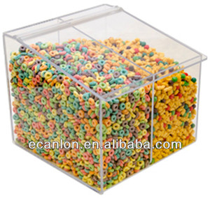 large acrylic food/cereal dispenser