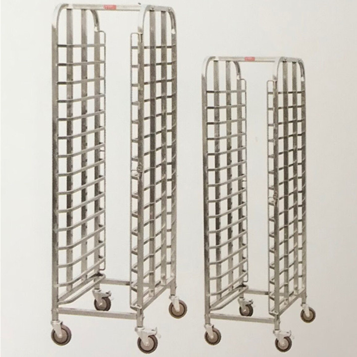 Zhongkai Hot Sale Commercial Stainless Steel Tray Trolley